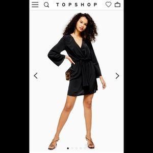 Topshop Tiffany Knot Mini Dress NWOT